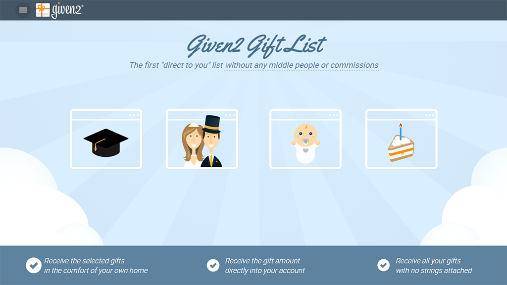 Wedding Gift No Registry: The First Direct Gift Registry With No Handling Fees