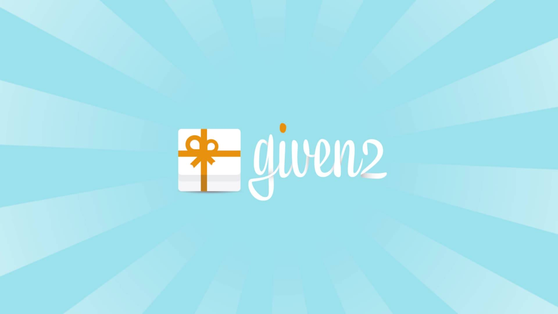 Given2 How It Works Create Your Gift Registry